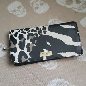 HENRI BENDEL Full Size Leather Clutch Wallet